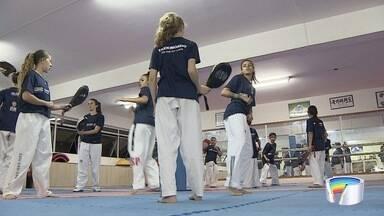 São José tem representante com vaga garantida nas Olimpíadas - É a Júlia Vasconcelos do Taekwondo.