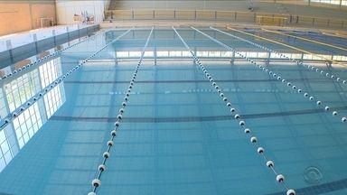 Uso da piscina da UFSC está restrito apenas para alunos matriculados - Uso da piscina da UFSC está restrito apenas para alunos matriculados