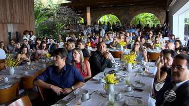 Tv Bahia apresenta novidades para o ano de 2016 à representantes do mercado de comunicação - Também foi apresentado um balanço das atividades desenvolvidas no ano passado.