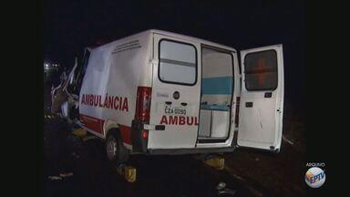 Prefeitura é condenada a pagar R$ 580 mil por acidente fatal com ambulância - Colisão provocou a morte de uma mulher e deixou criança gravemente ferida.