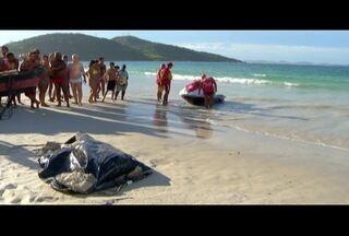 Corpo desaparecido após barco virar em Arraial do Cabo, RJ, é encontrado - Buscas duraram 48h.