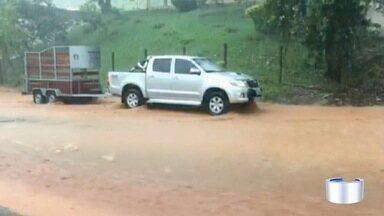 Também choveu forte em outras cidades - Cunha teve alagamento.