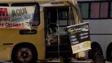Transporte pirata atua em Ceilândia - Tem até um escritório para venda de passagens para outros estados.