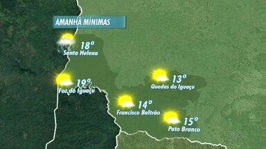 Veja a previsão do tempo para esta quarta-feira - O sol deve brilhar na fronteira.