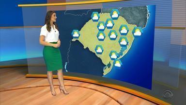 Quarta-feira (30) será marcada por sol entre nuvens - Máxima será de 27ºC em Porto Alegre.