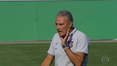 Corinthians volta a jogar no Pacaembu contra o Palmeiras e Tite relembra bons momentos - Técnico foi campeão brasileiro e da Libertadores no estádio