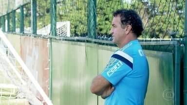 Mais tranquilo após vitória, Palmeiras se prepara para jogo contra o Corinthians - Verdão quer a vitória para conseguir se classificar no Paulista