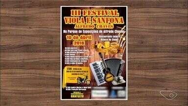 Confira a agenda cultural do interior do ES - Tem festival estadual da concertina na agenda do campo.