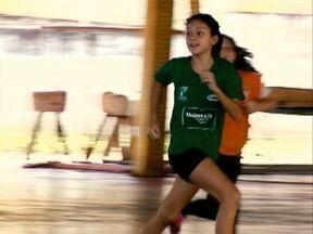 Com apenas 12 anos, Maria Eduarda é destaque no handebol - Conheça a trajetória desta jovem atleta, que é uma promessa do esporte.