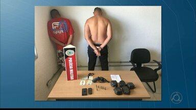 JPB2/JP: Polícia prende acusados de assaltos e assassinatos em João Pessoa - Um foi preso em Manaíra, outro em Tambaú e o terceiro no bairro dos Bancários.