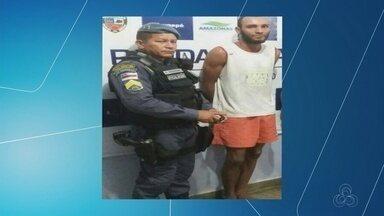 Marido suspeito de matar grávida é preso na casa do irmão, no AM - Segundo polícia, moradores ajudaram na busca ao suspeito