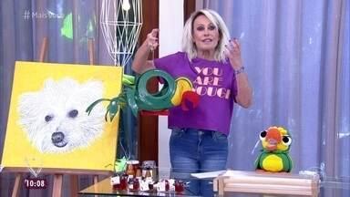 Ana Maria Braga mostra presentes recebidos dos fãs - Apresentadora aproveita para parabenizar os aniversariantes do dia