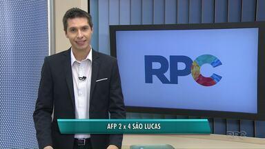 AFP perde a primeira na Série Ouro do Paranaense de Futsal - Derrota foi em casa, para o São Lucas, de Paranavaí.