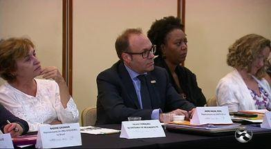 Representantes da ONU participam de reunião no Recife - Evento foi realizado para discutir ações para combater a microcefalia.