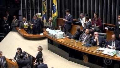 Câmara dos deputados se reúne nesta sexta (15) para discutir processo de impeachment - A votação vai acontecer no domingo (17). Processo começou no dia 2 de dezembro do ano passado.