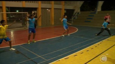 Crianças querem seguir passos de equipes do Campeonato Piauiense de Handebol - Crianças querem seguir passos de equipes do Campeonato Piauiense de Handebol