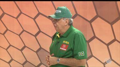 Técnico da Seleção Brasileira de Basquete vem a Teresina para troca de experiências - Técnico da Seleção Brasileira de Basquete vem a Teresina para troca de experiências