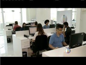 Redação da Inter TV dos Vales ganha novas instalações - Sede instalada em Ipatinga transmite o telejornais em alta definição.