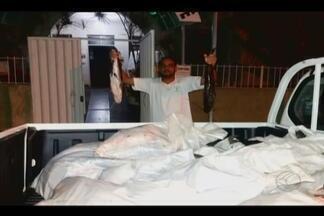 Dois são detidos com quase 400 quilos de pescado em Patrocínio - Peixes foram encontrados dentro de um carro na MGC-462. Suspeitos foram presos em flagrante.