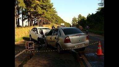 Uma pessoa morreu em um acidente de trânsito em São Pedro do Sul - O acidente aconteceu na manhã dessa sexta-feira.