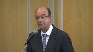 Novo Procurador Geral de Justiça de São Paulo toma posse - O procurador Gianpaolo Smanio assume o lugar de Márcio Fernando Elias Rosa. Ele foi o mais votado por promotores e procuradores do Ministério Público Estadual.