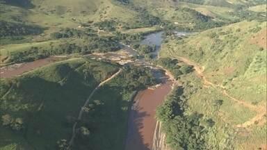 Ibama apresenta resultado de vistoria feita em áreas afetadas por rompimento de barragem - O rompimento de uma das barragens da mineradora Samarco aconteceu em novembro do ano passado em Mariana, na Região Central de Minas Gerais.