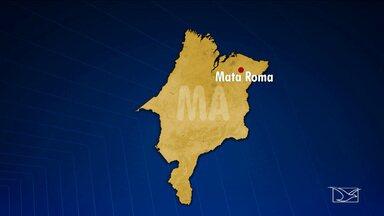 Bandidos assaltam agência bancária em Mata Roma, MA - Bandidos assaltam agência bancária em Mata Roma, MA