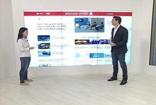 Confira os destaques do G1 Grande Minas com a repórter Michelly Oda - Jornalista passa a entrar ao vivo no telejornal com as notícias.