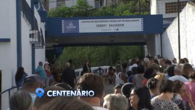 H1N1: população chega cedo e enfrenta filas para se vacinar em Salvador - A doença já deixou seis mortes no estado. Veja o calendário e quem deve se vacinar.