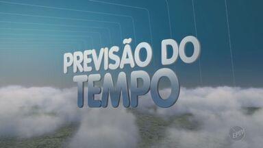 Previsão do tempo para esta quarta-feira é de sol - Temperaturas em Campinas ficam entre 19°C e 33°C.