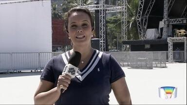 Caraguá tem programação com shows neste feriado - Mais informações com a repórter Marcela Mesquita.