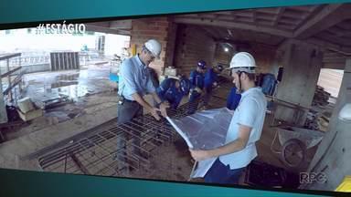 Curso de engenharia civil é o tema da reportagem de hoje da coluna Estágio - O Thiago contou como ser um estagiário pode ajudar na carreira profissional.