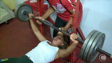 Atleta piauiense é campeã mundial e melhor na Luta de braço do Brasil - Atleta piauiense é campeã mundial e melhor na Luta de braço do Brasil