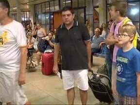 Feriado prolongado de Tiradentes movimenta o Terminal Rodoviário de Prudente - Quem tem as informações é o repórter David de Tarso.