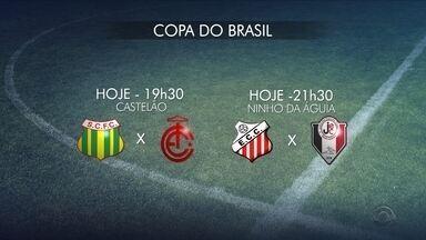 Dois times catarinenses entram em campo pela Copa do Brasil nesta quarta (20) - Dois times catarinenses entram em campo pela Copa do Brasil nesta quarta (20)