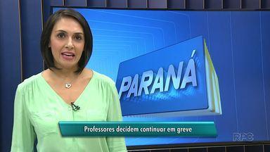 Professores da rede municipal de Inácio Martins decidem pela continuidade da greve - Apenas três dos 70 professores votaram pelo fim da paralisação. Eles não aceitaram a proposta apresentada pela prefeitura.