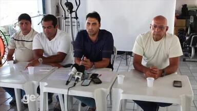 Athirson revela situação do Flamengo-PI em coletiva - Athirson revela situação do Flamengo-PI em coletiva