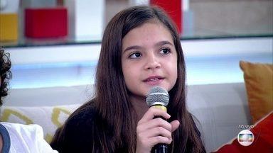Mel Maia fala como foi viver a filha de Tiradentes - Atriz fez Joaquina, em 'Liberdade, Liberdade'