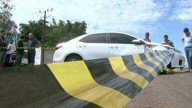 Homem morre e mulher fica ferida em acidente em Foz - A passageira da moto continua internada no Hospital Municipal