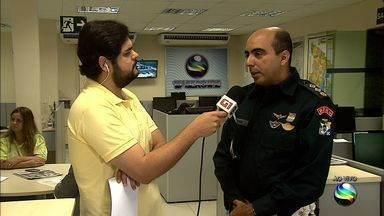 Repórter Tássio Andrade destaca operação da polícia durante feriado - Repórter Tássio Andrade destaca operação da polícia durante feriado.