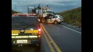 Ex-secretário de Santa Maria morre em acidente de trânsito em São Gabriel - O carro onde ele estava bateu de frente em um caminhão na BR 158