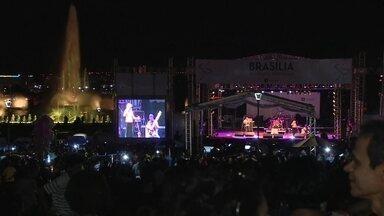 Brasília completa 56 anos nesta quinta-feira (21) - A noite é de shows no Eixo Monumental.