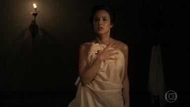 Rubião espia Rosa no banho - Bertoleza diz a Anita que não é escrava