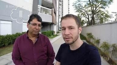 Tiago Leifert conhece condomínio que reduziu a conta de luz com troca de lâmpadas - Economia mensal é de R$ 5 mil