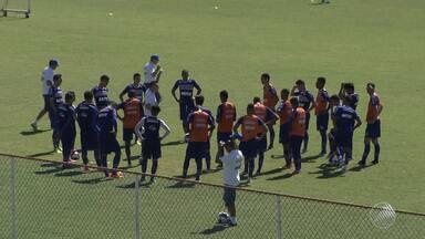 Bahia trabalha a confiança no grupo para o clássico Ba x Vi - Confira as notícias do tricolor baiano.