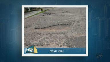 Moradores reclamam de condições de rua no distrito de Monte Verde, em Camanducaia (MG) - Moradores reclamam de condições de rua no distrito de Monte Verde, em Camanducaia (MG)