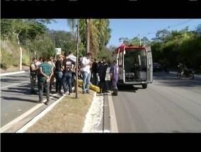 Homem morre em acidente na BR - 381 em Ipatinga - Trecho é conhecido como Morro da Usipa.