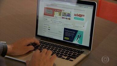 Brasileiros buscam solução no comércio pela internet - Com mais dez milhões de desempregados no Brasil, a procura de plataformas virtuais para criação de comércio eletrônico cresceu. Mas é grande o número de lojas virtuais que não dão certo.