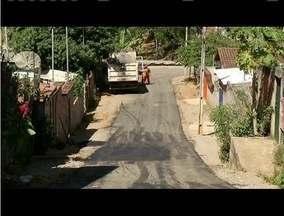 Blitz do MG: Bairro Macuco, em Timóteo, tem problemas resolvidos - As ruas do bairro receberam calçamento, conforme solicitação de moradores.