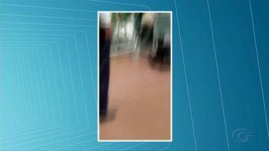 Idoso cai de escada rolante do Aeroporto Internacional Zumbi dos Palmares - Acidente aconteceu na manhã desta quarta-feira (27).